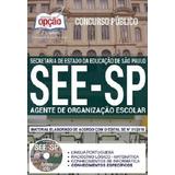 Apostila See sp 2018   Agente De Organização Escolar [cd Grá